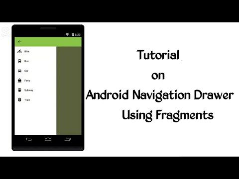 ANDROID NAVIGATION DRAWER Tutorial | Android Navigation Drawer using Fragments Android Tutorial - http://www.techinfo007.com/future/android-navigation-drawer-tutorial-android-navigation-drawer-using-fragments-android-tutorial/