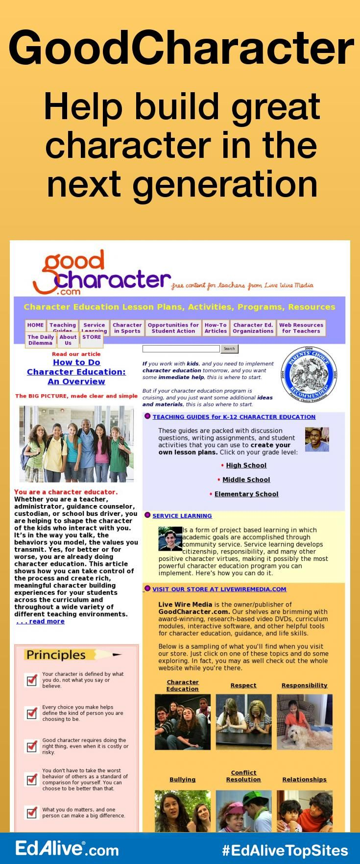 die besten ideen zu positive character traits auf goodcharacter help build great character in the next generation encourages students to develop positive