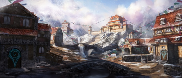Mountain Village Nerdy D Amp D Stuff Pinterest Rpg And