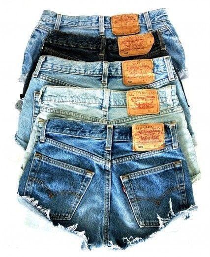 Best 25  Jean shorts ideas on Pinterest | Levi shorts, Blue jean ...