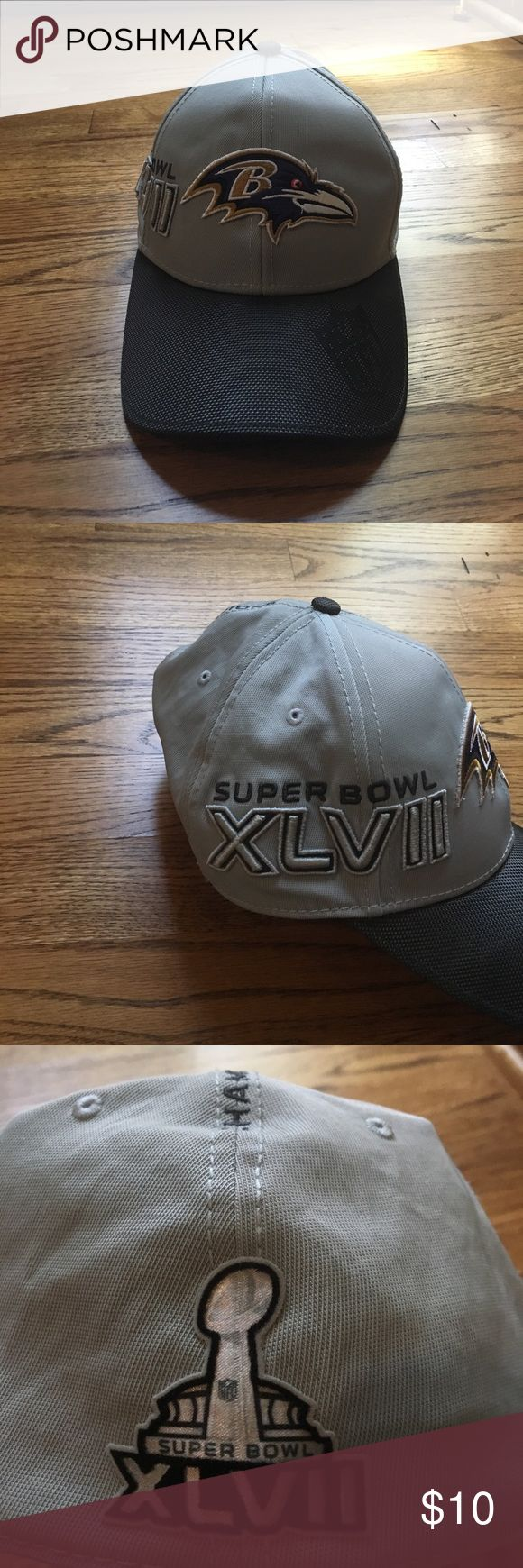 Baltimore Ravens Super Bowl XLVII Hat Excellent used condition, no visible flaws New Era Accessories Hats
