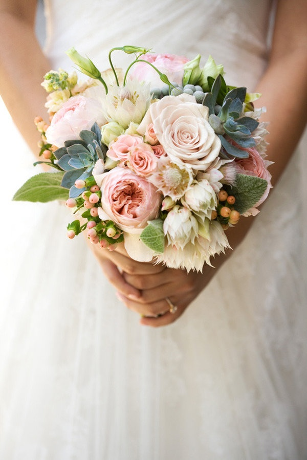 You know what we love? The little bit of a ruffle at the bottom of this gorgeous bouquet;) Sacha of Bloom Custom Floristry & Events, Photography by jacshoot.com