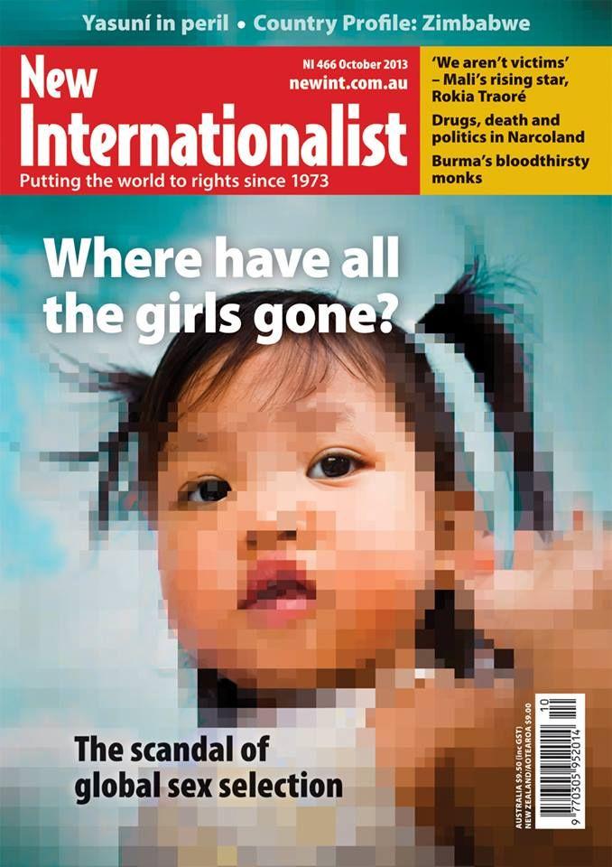 October 2013 issue  Read the digital version here: digital.newint.com.au