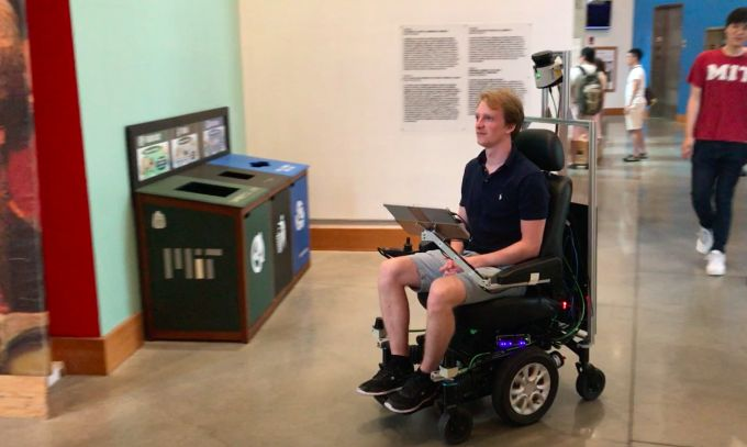 Taking a ride in MITs self-driving wheelchair