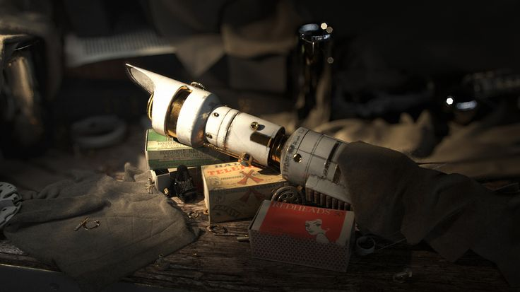 Lightsaber, created by Peter Nowacki using 3dsmax and Vray.