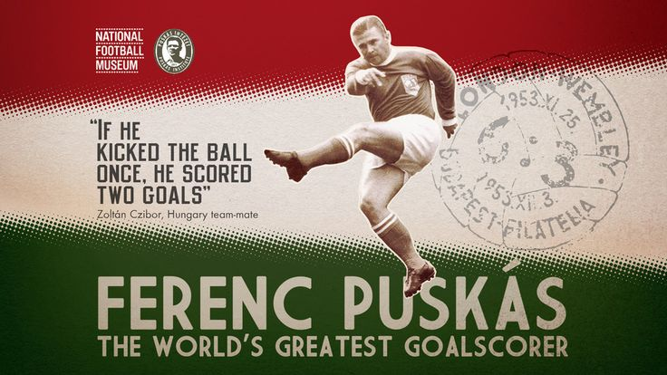 Football, Soccer, Ferenc Puskas, Goalscorer, Greatest Goalscorer, Greatest…