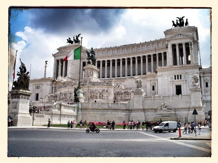 Monumento Nazionale a Vittorio Emanuele II - Piazza Venezia - Rome - Italy
