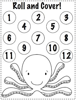 Crazy Speech World: Ocean Animals {Freebie!}  4 activities to print and play!