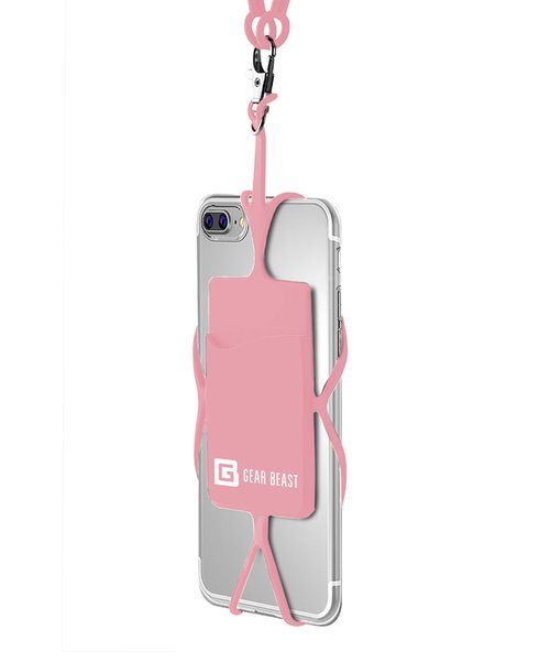 Look at this Light Pink Universal Smartphone Lanyard Necklace