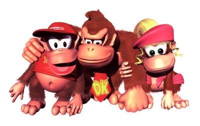Donkey Kong, Diddy Kong e Dixie Kong! O trio parada dura em Donkey Kong Country! Confira também Jogos do Donkey Kong (Online & Grátis) em: http://www.jogoson.com.br/jogos-do-donkey-kong/