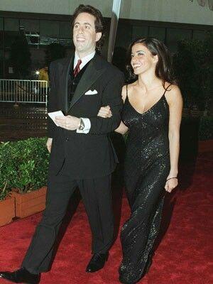 Jerry Seinfeld & His Sexy Wife Jessica born Nina Danielle Sklar.