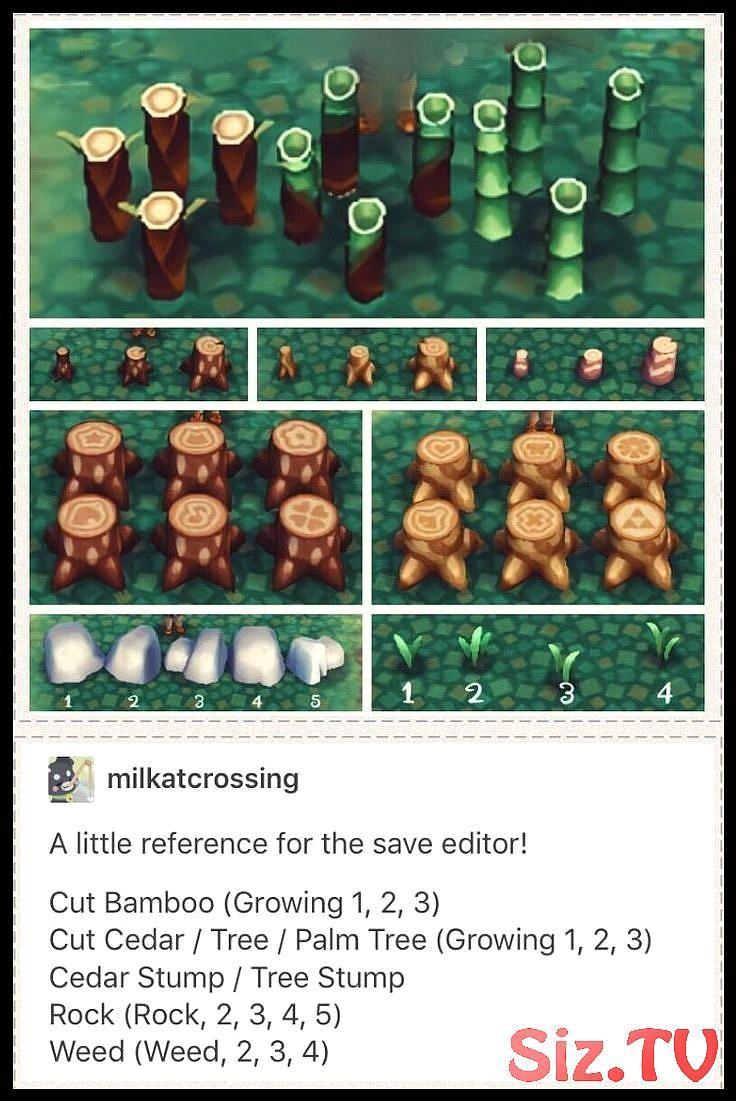 Animal Crossing New Leaf Save Editor Hacking Guide Zum Platzieren Von Stumpfen Unkraut Anim Animal Crossing Funny Animal Crossing 3ds Animal Crossing Game