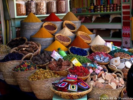 Epices, Medina, Marrakech