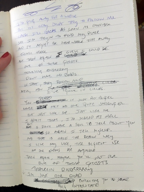 paramore lyric - Hayley's Notebook :)