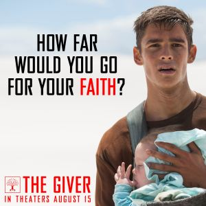 The Giver - I really liked this movie although most people I know don't! ..wot eva