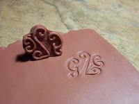 2 Good Claymates: Signature Stamp Tutorial