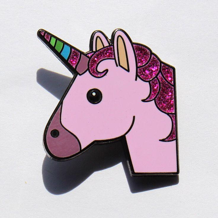 Unicorn Emoji Pin-Unicorn glazuur Pin voor je leven door RealSic op Etsy https://www.etsy.com/nl/listing/291611123/unicorn-emoji-pin-unicorn-glazuur-pin