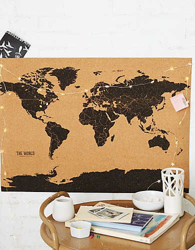 Best Corkboard Map Ideas That You Will Like On Pinterest - Us travel map on cork board