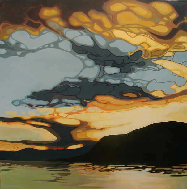 Erica Hawkes original acrylic paintings sold at the Lloyd Gallery, Penticton BC