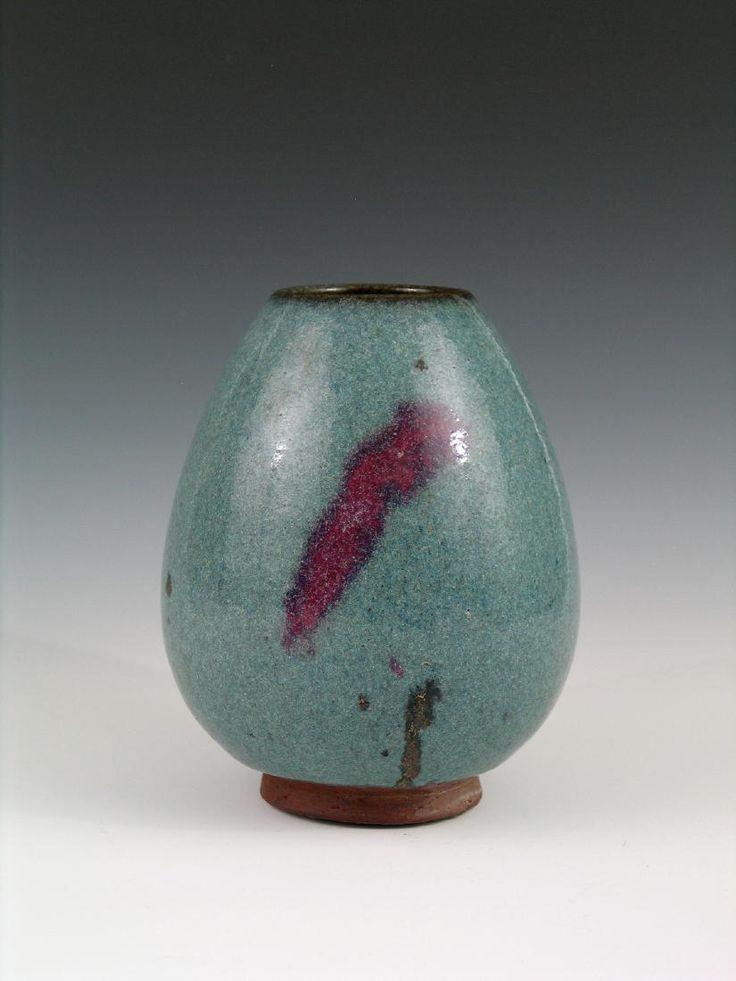 Chinese Jun ware porcelain jar.