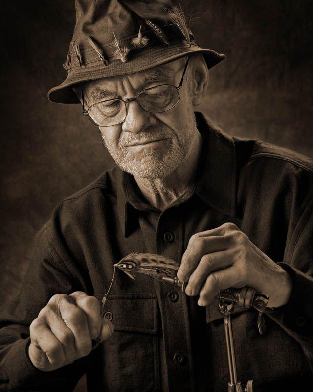 Портретное освещение: характерный портрет
