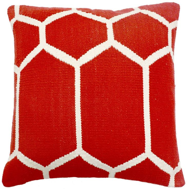 Heritage Red Decorative Throw Pillow