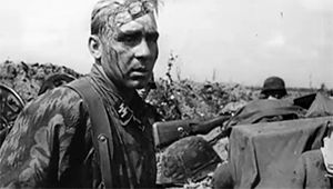 Behind the frontline footage of the Waffen-SS at Kursk in the summer of 1943. The soldiers endured the stress of battle around the clock during the offensive, attacking again and again in the face of...