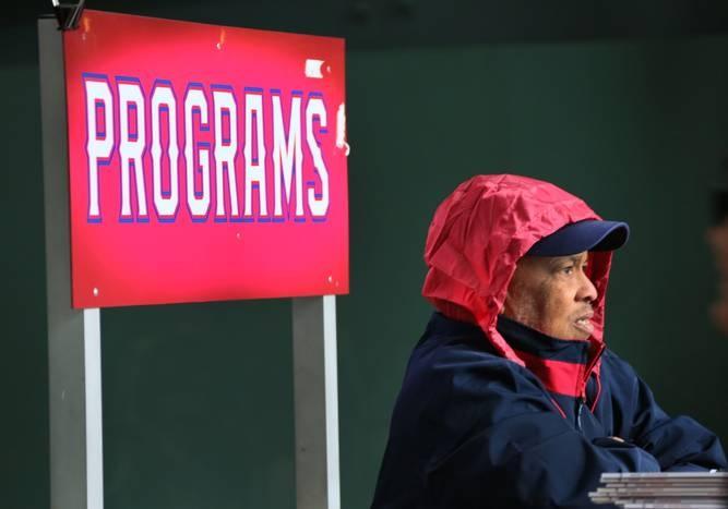 Baseball weather.   A look at Rangers fans braving the frigid rain delay vs. the Rays | Texas Rangers News - Sports News for Dallas, Texas - SportsDayDFW