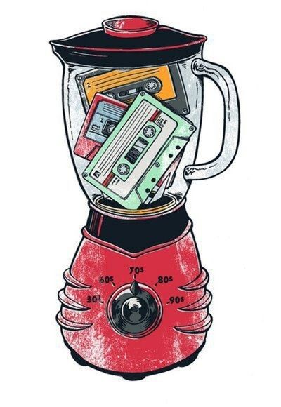 Mix Tapes #music #tapes #cassette http://www.pinterest.com/TheHitman14/the-audio-tape-%2B/