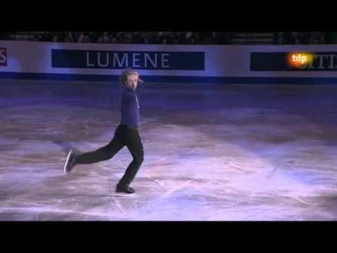 The tzar, Evgeni Plushenko. European Championship - Gala
