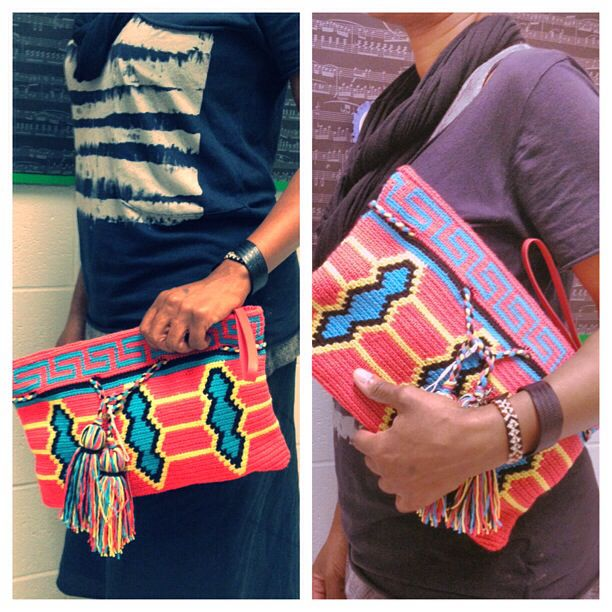 Wayuu clutch designed to standout!! #pavanafit