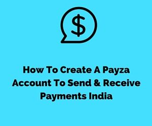 payza account singup