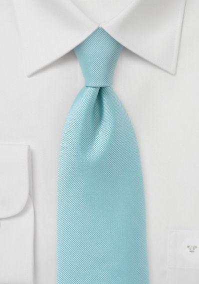 Krawatte Rippsstruktur türkis