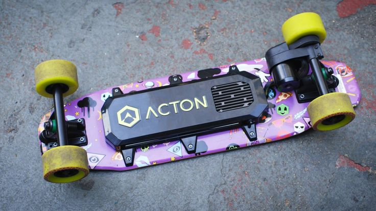 The Acton Blink Board is the smallest and cheapest electric skateboard you can buy right now. It has a six mile range, and it weighs just nine pounds. It mig...