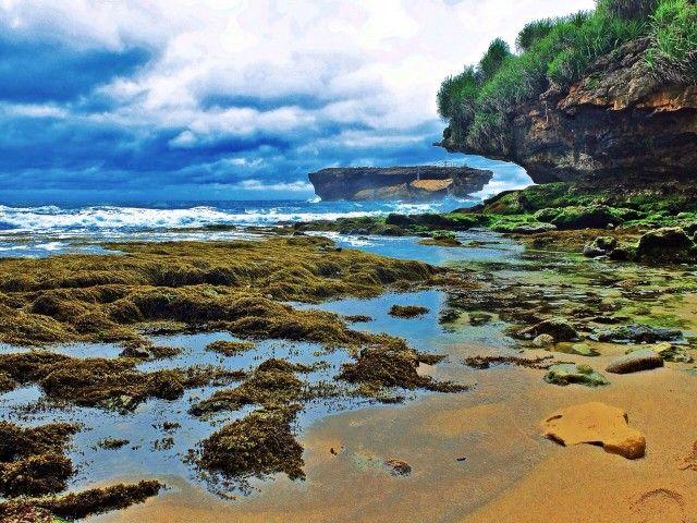 Timang Beach - Hidden beaches in Gunung Kidul, Central Java, Indonesia