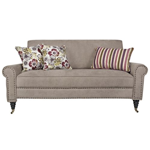 nebraska furniture mart u2013 angelohome harlow sofa in parisian tangray chenille