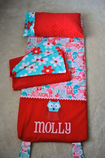 DIY-Super cute cover for a kindermat! Just what I need to send my little bug to Mother's day out in style!
