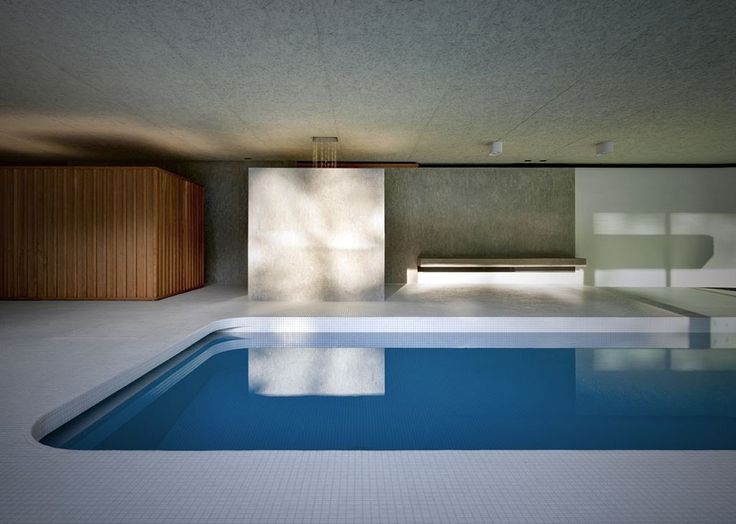 Roccolo's swimming pool by act_romegialli in Alta Brianza Italy | Tododesign by Arq4design