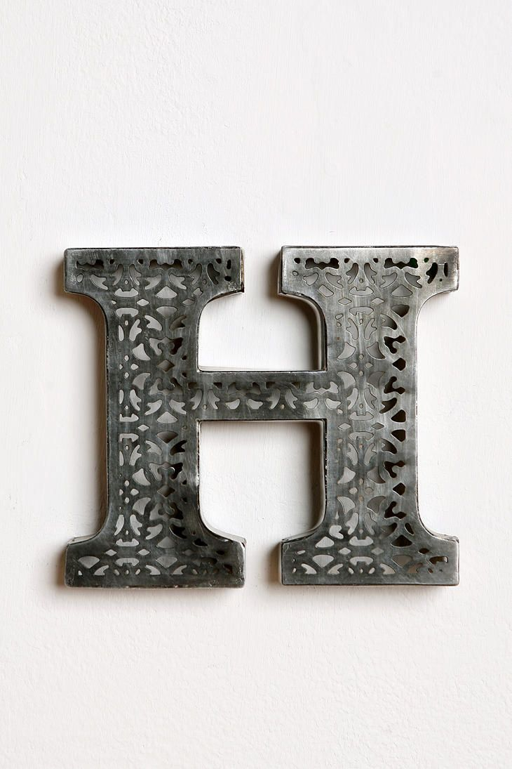 Letter H Wall Decor