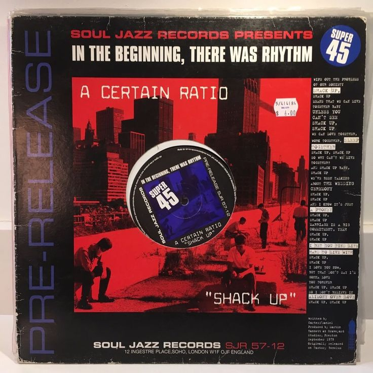 "CERTAIN RATIO / HUMAN LEAGUE Shack Up b/w Being Boiled 12"" 2002 Soul Jazz UK #FilmScoreSoundtrack"