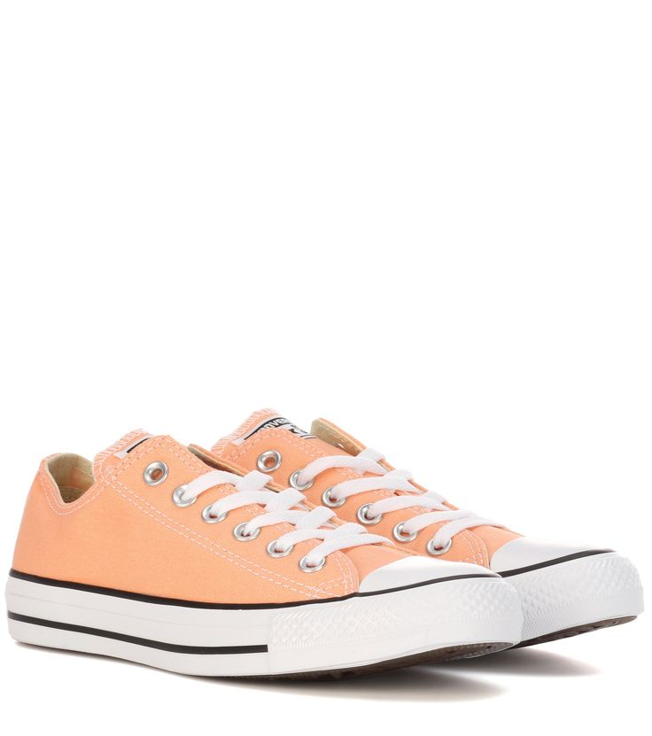 Chuck Taylor All Star orange sneakers