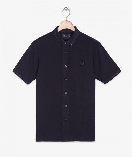 Fred Perry - Button Through Pique Shirt