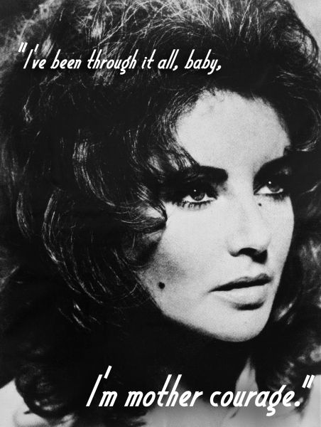 Elizabeth Taylor Quote - it's not over yet I'm sure that there will always be more to come.