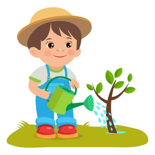 Pin By Maricruz On Clipart In 2020 Cartoon Garden Garden Pictures Cute Cartoon