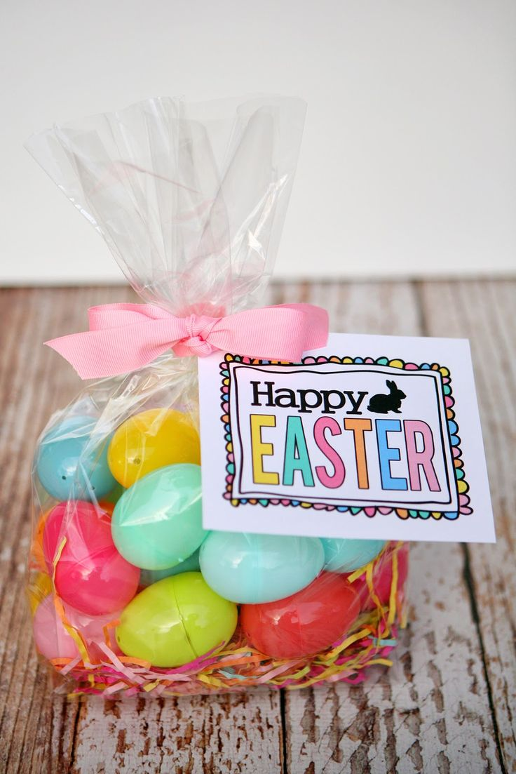 192 best easter gift ideas images on pinterest easter gift easter gift ideas with free printable tag negle Choice Image