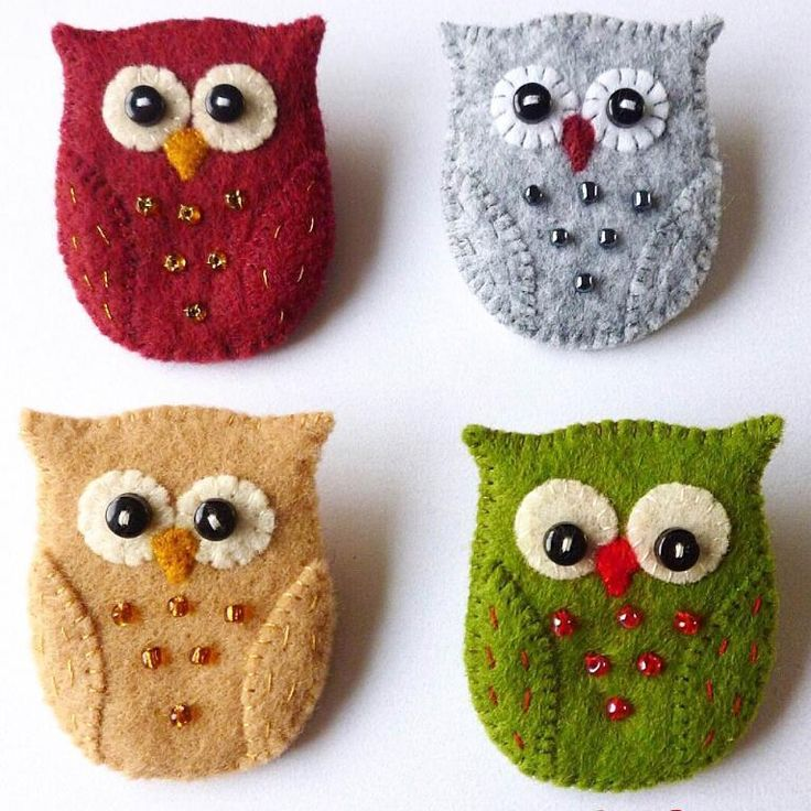 "(9) Név: ""Varró: Owl Bross Pin Pattern"