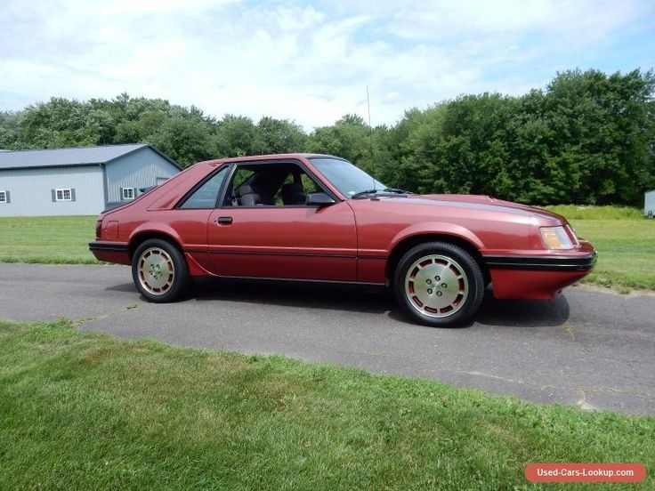 1984 Ford Mustang SVO #ford #mustang #forsale #unitedstates