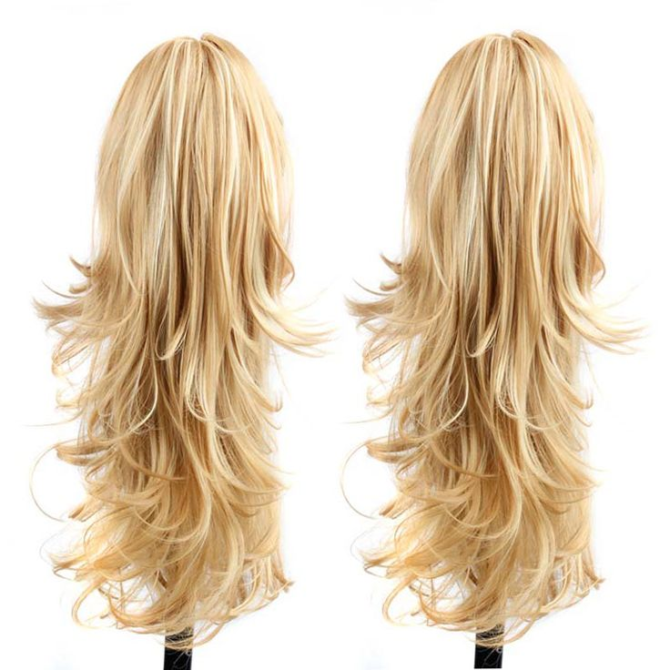 Long Curly Hair Tail Best Synthetic Ponytail Extensions Natural Fake Ponytails Hairextensions Hair Claw Ponytail Hairpieces