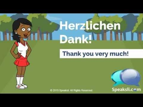 Polite German Sayings | Learn German | Speaksli - YouTube