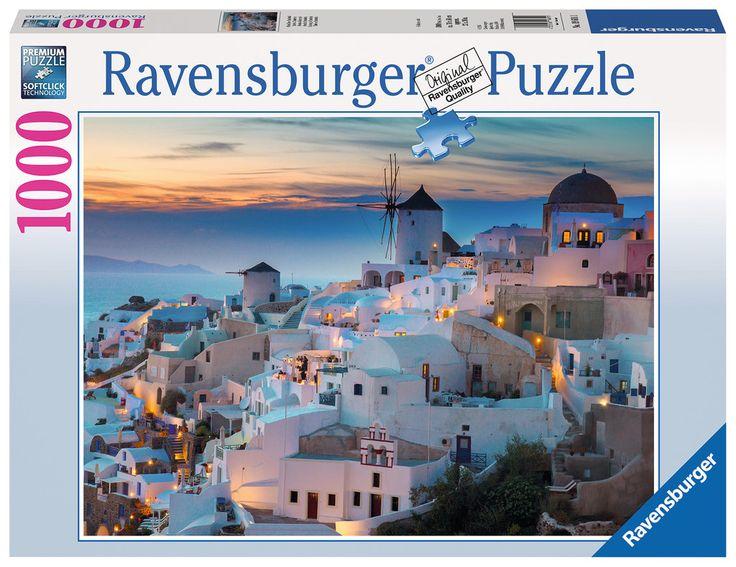 Serata a Santorini   Puzzle da Adulti   Puzzle   Prodotti   IT   ravensburger.com